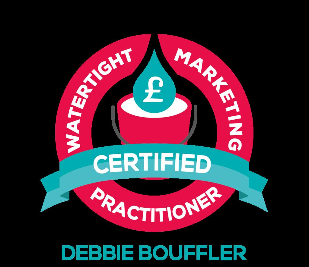 Watertight Marketing Badge